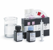 MERCK 111102 Compact Laboratory for Aquaristics Reagents and accessoires for the determination of: pH, total hardness, carbonate hardness ammonium, ni